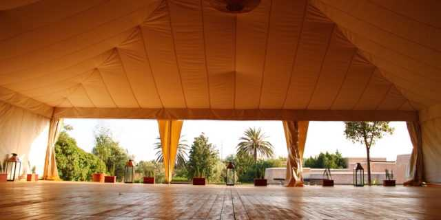Tente de Yoga
